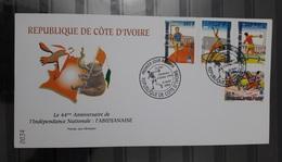 COTE D'IVOIRE IVORY COAST 2004  - FDC - OLYMPIC GAMES JEUX OLYMPIQUES ATHENS ATHENE GRECE GREECE - RARE - Ivory Coast (1960-...)