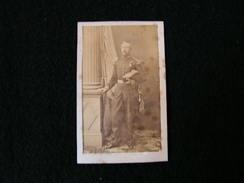 Cpa Ancienne Photo Cdv Militaire General Brahant ? Armée Napoleon - Photos