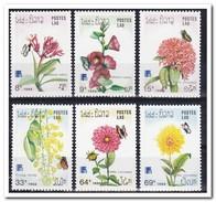 Laos 1988, Postfris MNH, Flowers - Laos