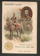 CHROMO CHICOREE CASIEZ -  EMPIRE DU JAPON  -  MUTSU-ITO - 1852-1867  -  REVUE IMPERIALE - Trade Cards