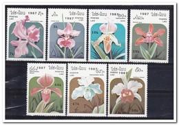 Laos 1987, Postfris MNH, Flowers, Orchids - Laos