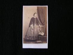 Cpa Ancienne Photo Cdv Madame Madame De Malherbe Provost Toulouse - Photos