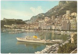 Monaco - Principauté De Monaco - Vue Sur Le Port Et La Condamine - 1976 - Schiff / Bateau / Boat / Boot - La Condamine