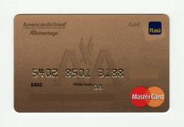 Bank ITAU PARAGUAY AVIO American Airlines Mastercard GOLD EXPIRED 2008 - Geldkarten (Ablauf Min. 10 Jahre)