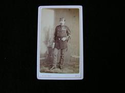 Cpa Ancienne Photo Cdv Gustave Henri Malherbe De Maraimbois Ordre St Sepulcre De Jerusalem Chevalier Officier Infanterie - Photos