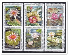 Laos 1982, Postfris MNH, Flowers - Laos