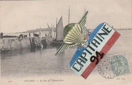 CPA DINARD ILLE ET VILAINE LE BAC AU DEBARCADERE - Dinard