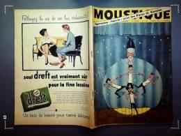 Hebdomadaire - MOUSTIQUE - N°1675 - 02 Mars 1958. - Livres, BD, Revues
