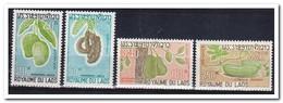 Laos 1968, Postfris MNH, Fruit, Vegetables - Laos