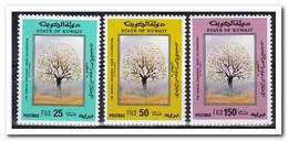Koeweit 1989, Postfris MNH, Trees - Koeweit