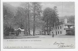 St. Christau - Grande Allee Du Vieil Etablissement - Edit. Pondarre 207 - Dos Simple - Other Municipalities