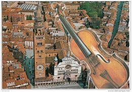 Cremona - Veduta Aerea Del Centro Storico -Il Duomo - Il Violino ( Stradivari ) - Cremona