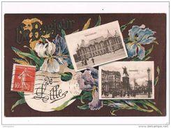 29075 ( 2 Scans ) Un Bonjour De Lille - Lille