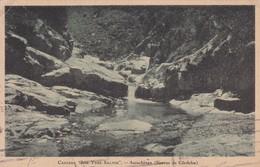 CASCADA LOS TRES SALTOS, ASCOCHINGA, SIERRAS DE CORDOBA. CIRCA 1930S. ARGENTINE - BLEUP - Argentina