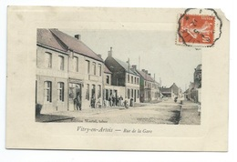 62 - VITRY-EN-ARTOIS - Rue De La Gare - CPA - Vitry En Artois