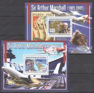 X122 2007 DE GUINEE AVIATION SIR ARTHUR MARSHALL 2BL MNH - Concorde