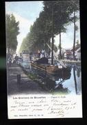 LOTH LE CANAL ET PENICHES COLORISEES - Maritiem