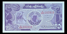 # # # Banknote Aus Afrika 25 Piaster 1987 UNC # # # - Sudan