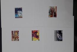 COTE D'IVOIRE IVORY COAST 2004 -  EPREUVE EPREUVES DE LUXE DELUXE PROOF- TABLEAUX D'ARTISTES ARTISTS PAINTINGS ART - MNH - Ivory Coast (1960-...)