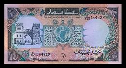 # # # Banknote Aus Afrika 10 Pounds 1991 UNC # # # - Soudan