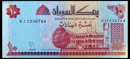 # # # Banknote Aus Sudan 10 Pounds UNC # # # - Soudan