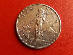 Piece One Peso Philippine Filipinas / Usa  1903  Argent - Philippines