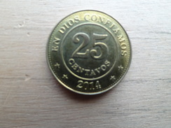 Nicaragua  25  Centavos  2014  Km !!! - Nicaragua