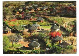 Botsuana - Botswana - Traditional Housing In Serowe - Nice Owl Stamp - Botswana
