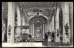 BELGIQUE - DICKEBUSCH - Intérieur De L'Eglise - Interior Of The Church - Ieper