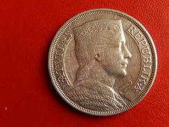 LETTONIE 5 LATI ARGENT 25gr 1931 - REPUBLIKA LATVIJAS PIECI 5 LATI - SUP - Lettonie