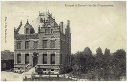 RUMPST - Kasteel Van Den Burgemeester - Uitg. C. De Vos-Verberght - Rumst