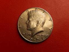 ETATS-UNIS - Half Dollar 1977 - Kennedy - UNITED-STATES Of AMERICA - Federal Issues