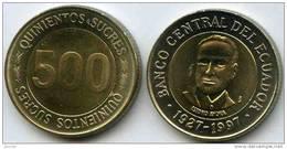 Equateur Ecuador 500 Sucres 1997 UNC KM 102 - Equateur
