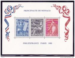 Monaco BF N°47 - Neuf ** - Superbe - Blocs