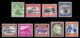 Samoa 1935 MNH Set SG 180/188 - Samoa
