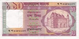 BILLETE DE BANGLADESH DE 10 TAKA EN CALIDAD EBC (XF) (BANKNOTE) - Bangladesh