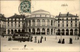 35 - RENNES - Théatre - Tram - Rennes