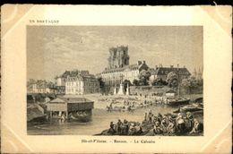 35 - RENNES - Vieux Rennes - Gravure - Lavoir - Rennes