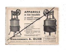 Clermont-Ferrand , Publicité Ets A Olier , - Advertising
