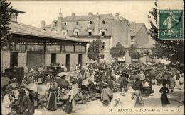 35 - RENNES - Place Des Lices - Marché - Rennes