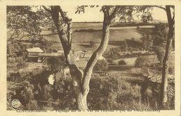 Clavier - Station -- Paysage Sur Le Val Du Hoyoux - (Vu Du Vieux Château).     (2 Scans) - Clavier