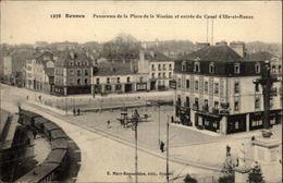 35 - RENNES - Place De La Mission - Train - Rennes