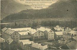 SAINT-ETIENNE-DE-CUISNES  - Vue Générale Des Etablissements Bozon-Verduraz - Autres Communes