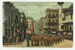 CONSTANTINOPOLI - LA PLACE DE KARAKEUI 1911  - VIAGGIATA  FP - Turkije