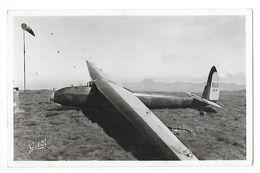 PLANEUR AVIA 41 P Au Sol Camp De Vol à Voile De La Banne D'Ordanche (63) - Carte Photo  - L 1 - 1946-....: Ere Moderne