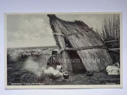 UNGHERIA UNGARN HUNGARY Hortobagy Juhasz A Hortobagyon Shepherd Old Postcard - Ungheria