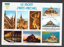50 Carte Multivues Mont Saint Michel Editions Jack 22700 Louannec - Le Mont Saint Michel