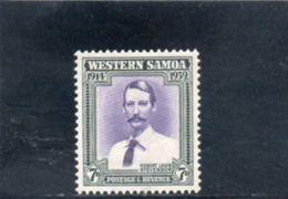 SAMOA 1939 * - Samoa