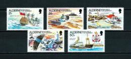 Alderney  Nº Yvert  49/53  En Nuevo - Alderney