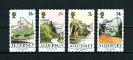 Alderney  Nº Yvert  28/31  En Nuevo - Alderney